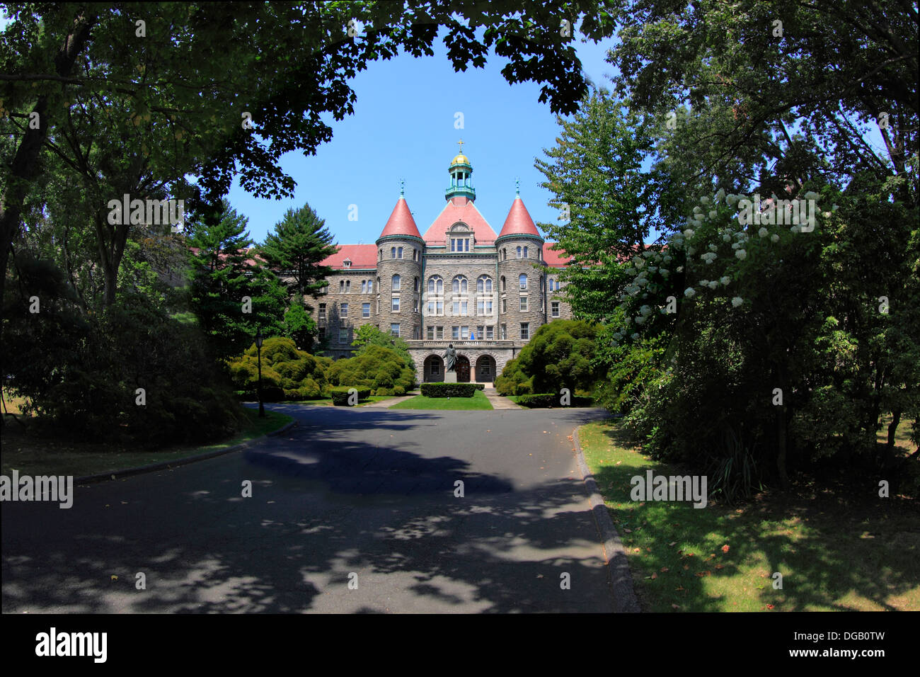 St. Josephs Seminary Yonkers New York - Stock Image
