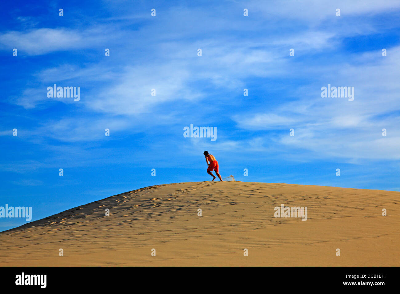 France Gironde Arcachon Dune De Pyla Stock Photo 61708181 Alamy