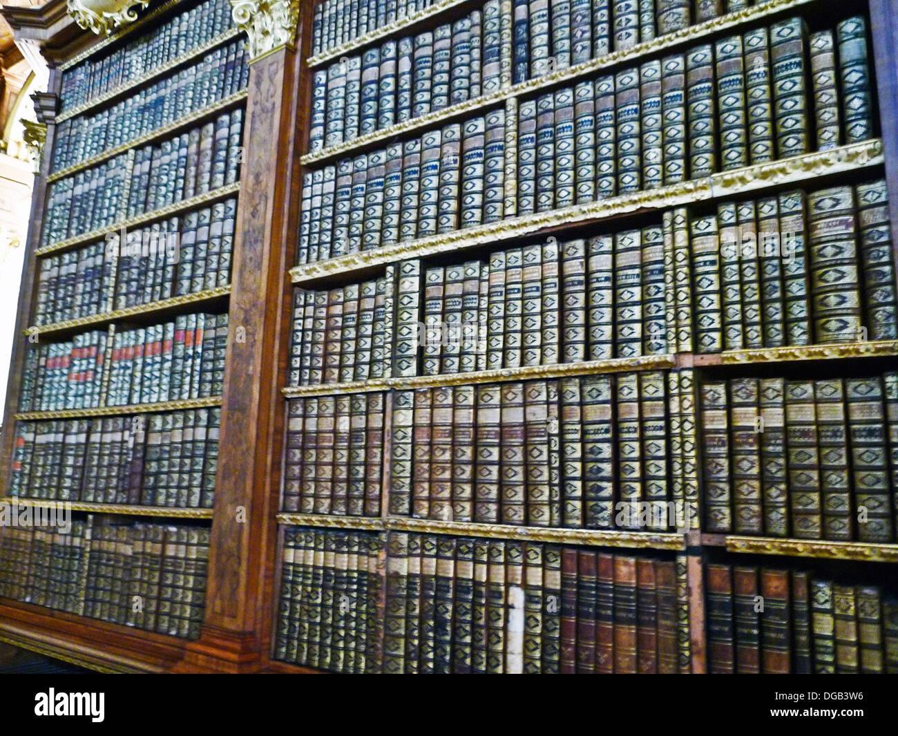 Melk Abbey Library Stock Photos  Melk Abbey Library Stock-7631