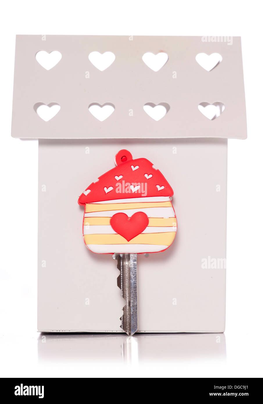 Home sweet home studio cutout - Stock Image
