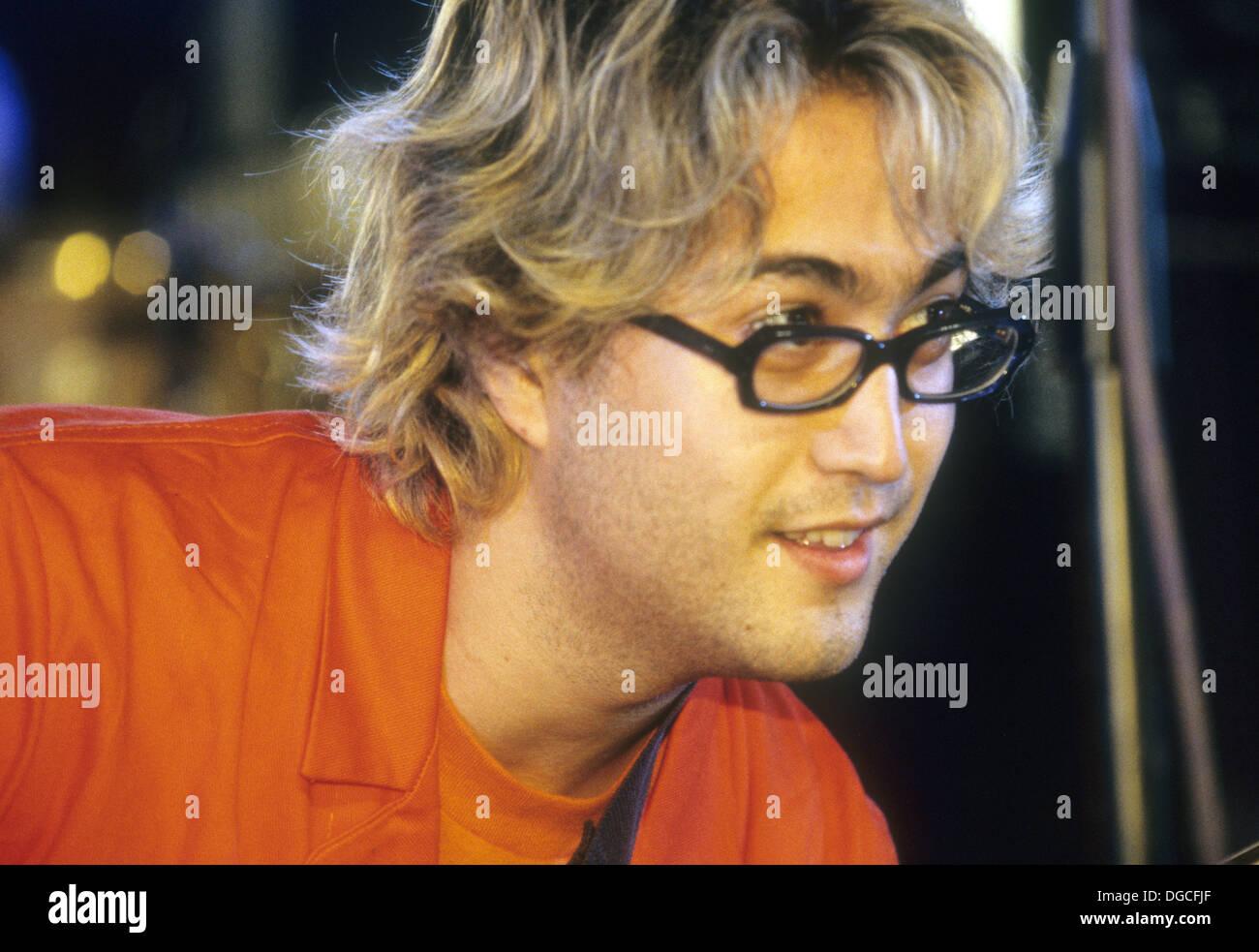 SEAN LENNON Rock Musician Son Of John Lennon At Glastonbury Festival In 1998 Photo Martin Norris