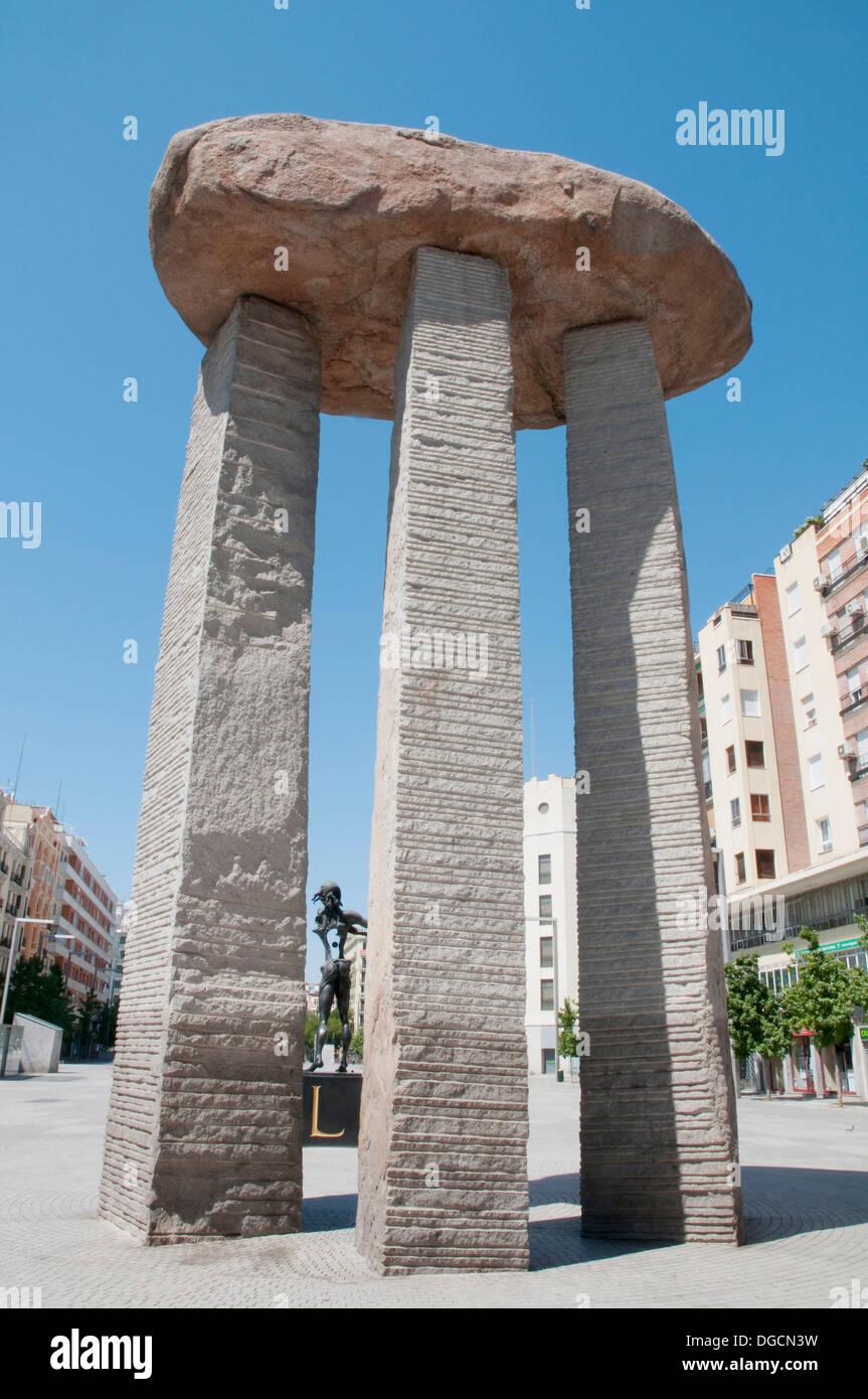 Plaza De Dali Madrid Stock Photos Plaza De Dali Madrid Stock