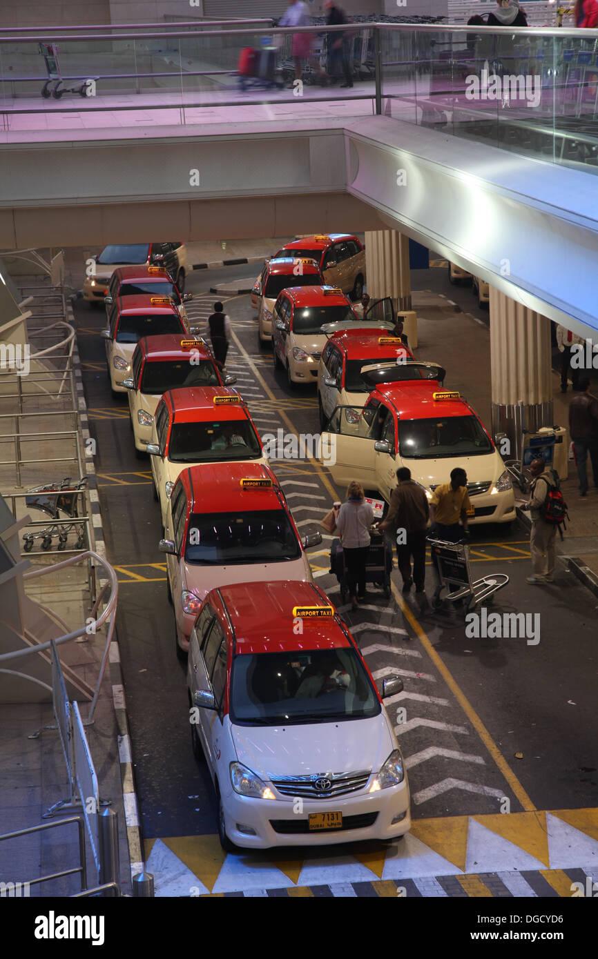 Dubai Airport Terminal 3 Three UAE AVIATION Stock Photo