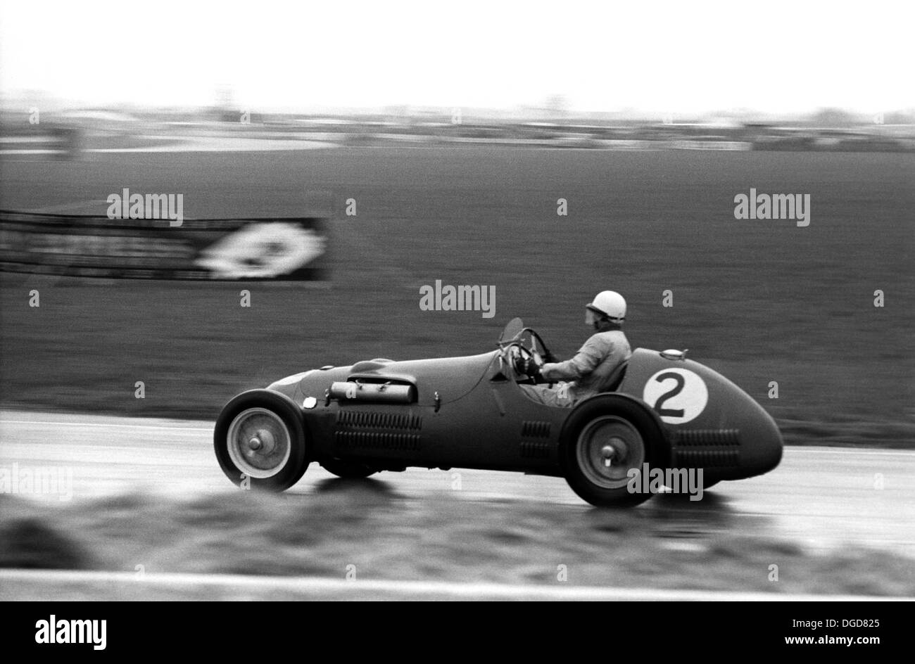 An HWM racing at Goodwood, England, Easter 1951. - Stock Image