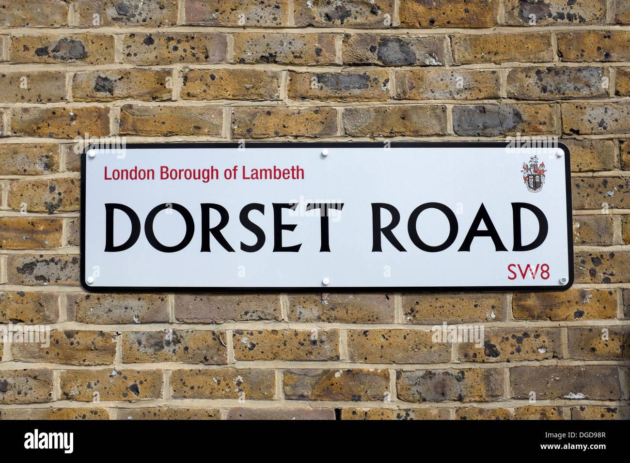 Dorset Road Lambeth London - Stock Image