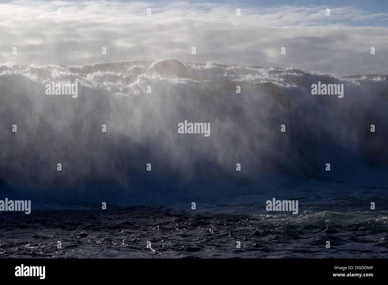 Faxi Waterfall, IJsland - Stock Image