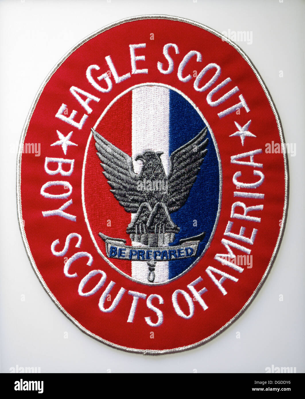 Boy Scout Patch - Stock Image