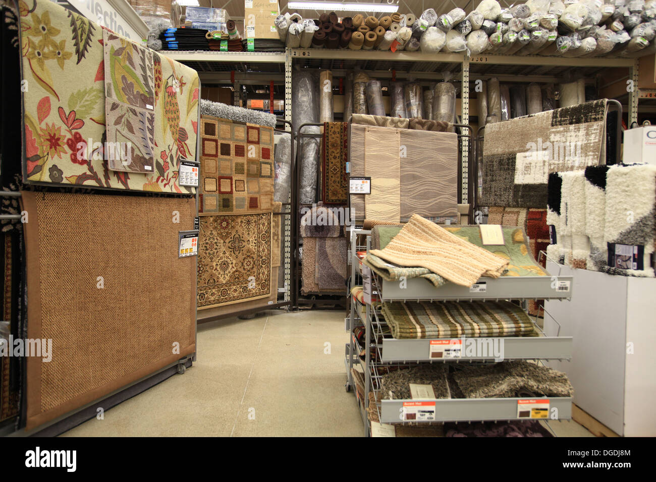 Floor carpets and rugs for sale in The Home Depot, Kitchener Stock