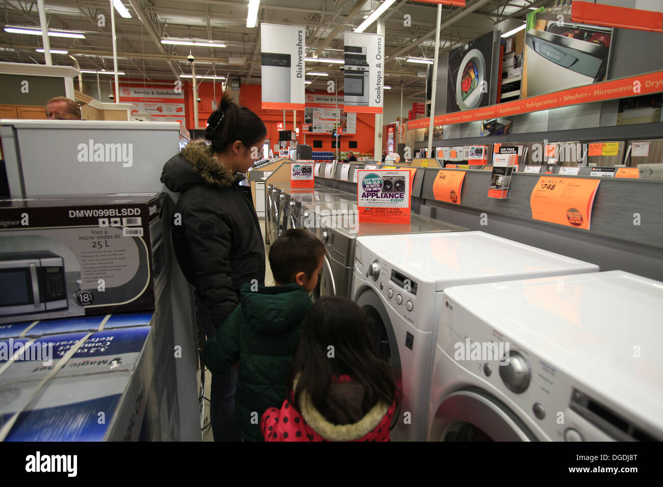 Electric washing machines and dryers for sale in The Home