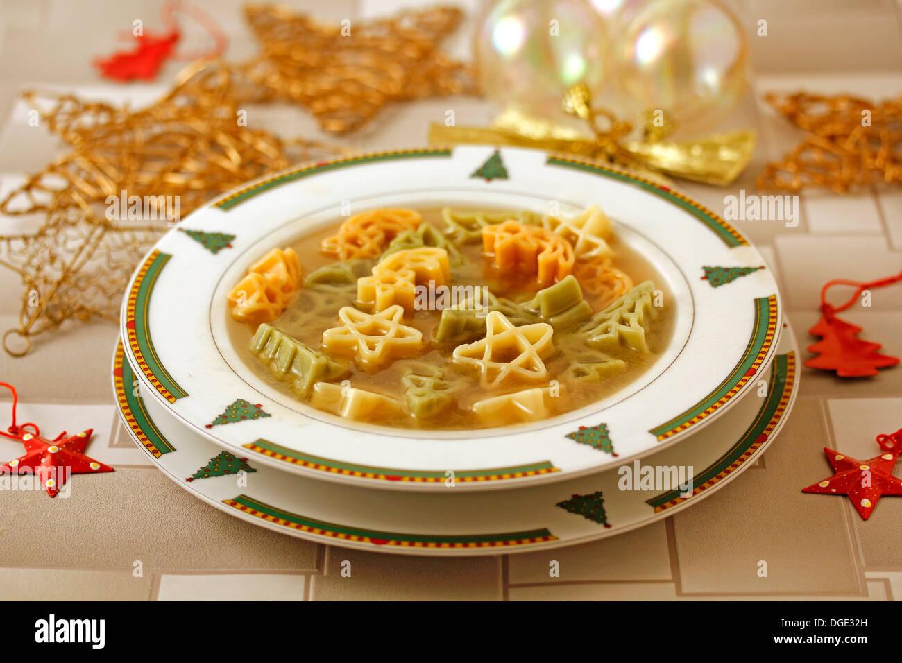 Christmas Soup.Christmas Soup Recipe Available Stock Photo 61775353 Alamy
