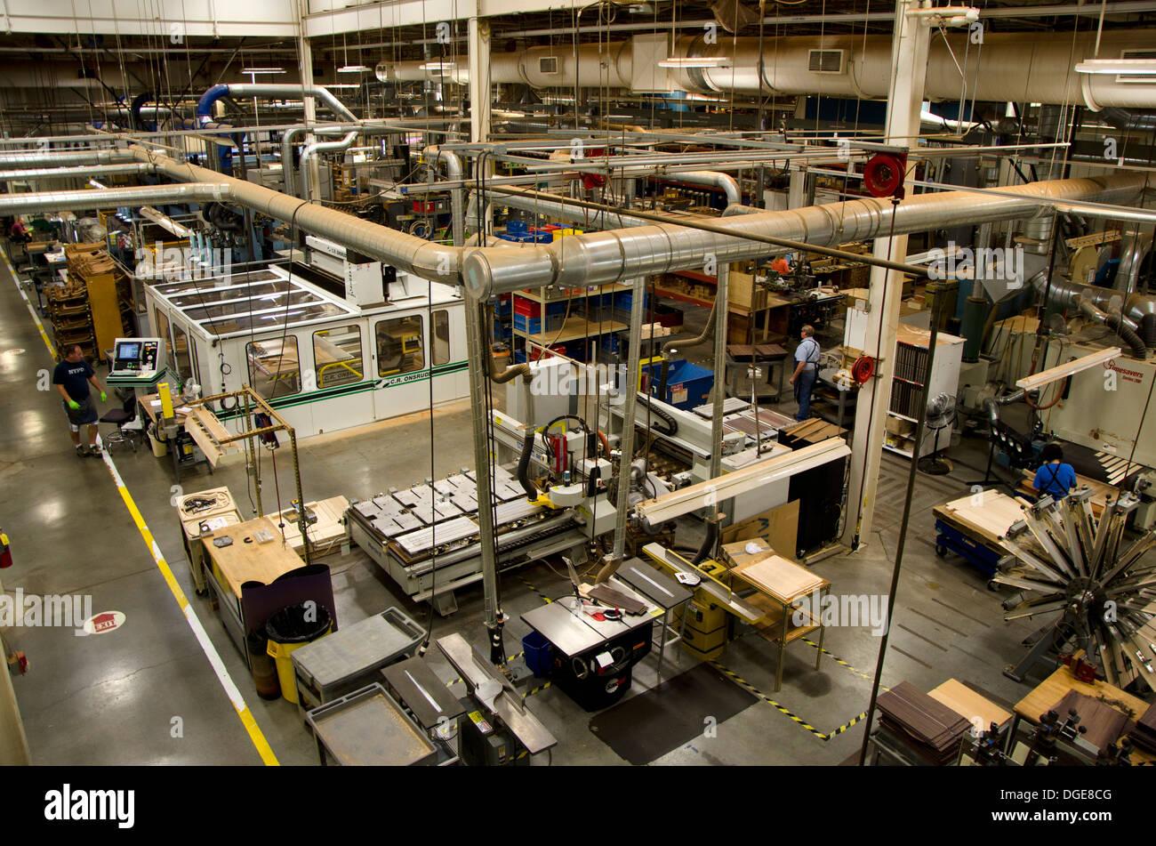 Martin guitar guitars factory in Nazareth, Pennsylvania, USA