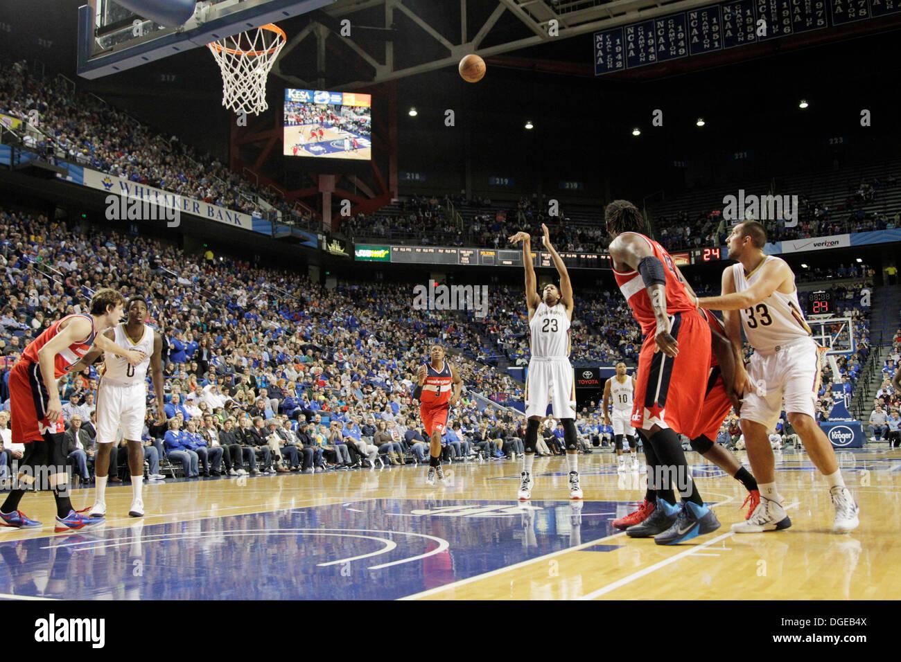 Lexington Ky Us 19th Oct 2013 New Orleans Pelicans