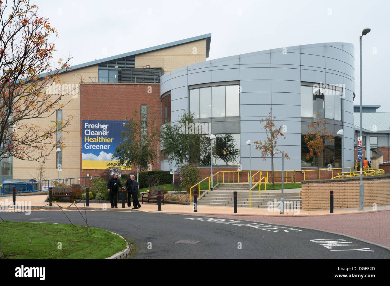 University Hospital of North Durham, north east England, UK - Stock Image