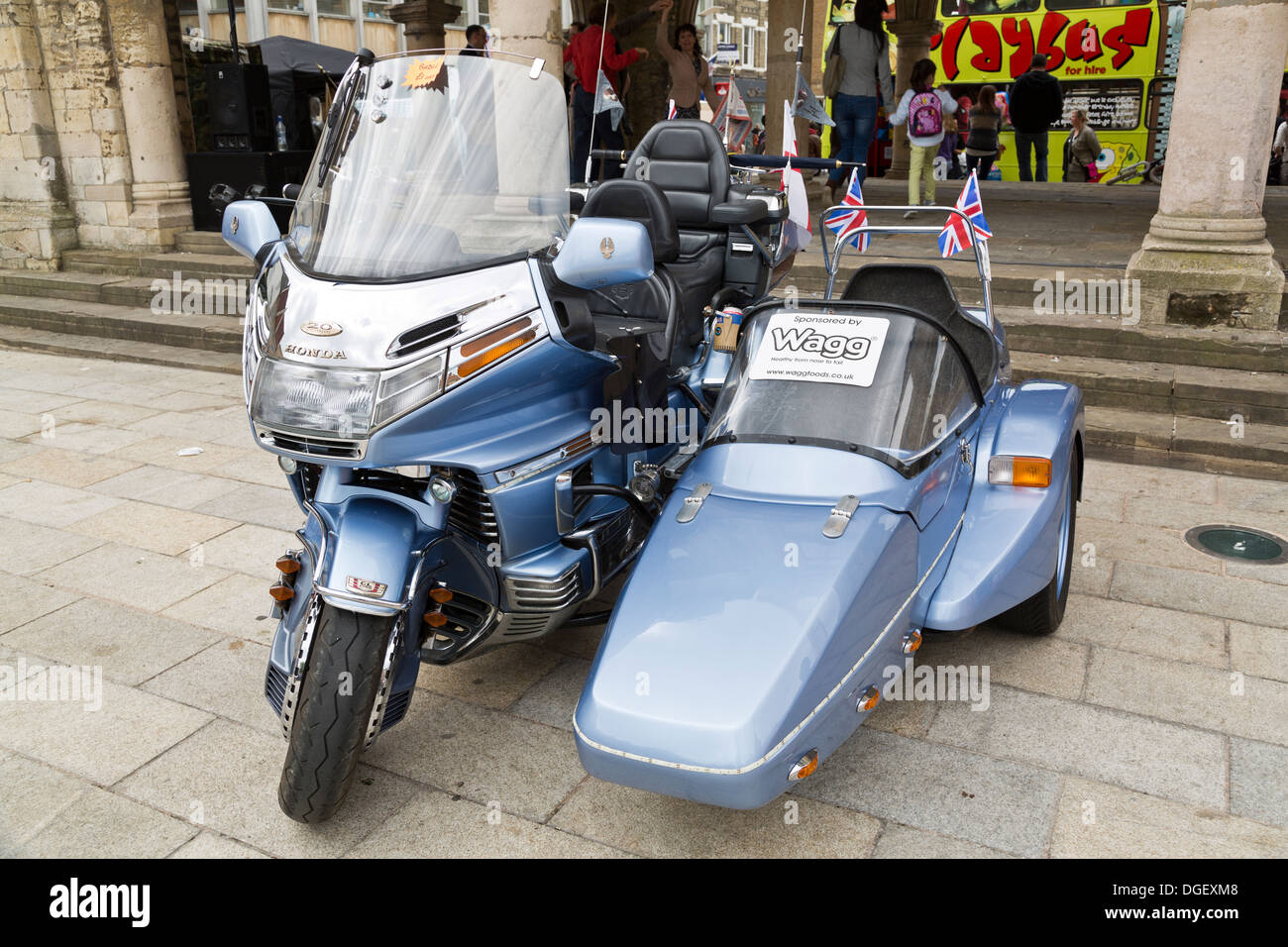 Honda Sidecar Stock Photos & Honda Sidecar Stock Images - Alamy