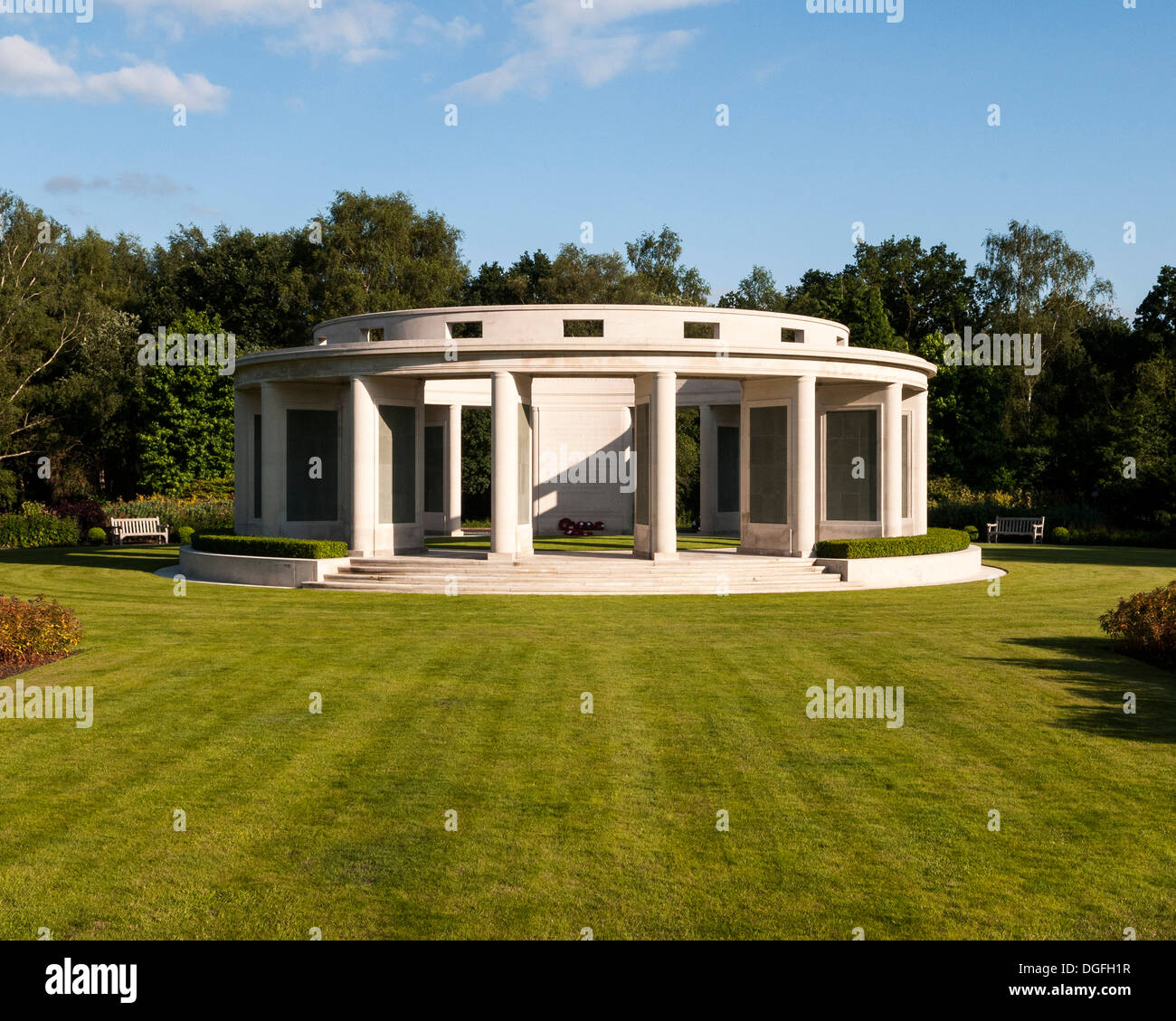Brookwood Military Cemetery and memorials, Brookwood, United Kingdom. Architect: unknown, 2013. Memorial. Stock Photo