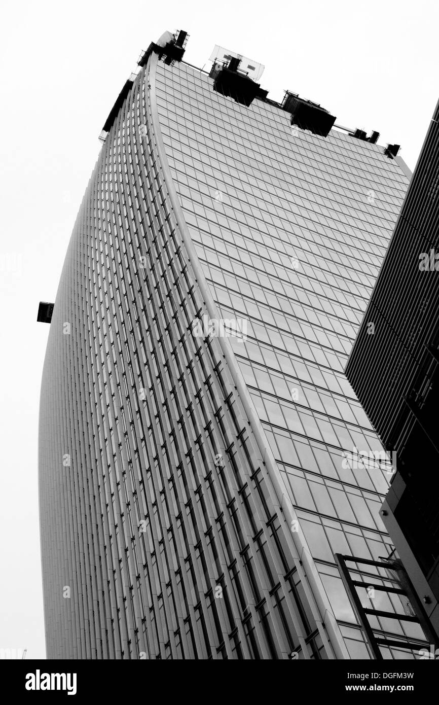 LONDON - SEPTEMBER 21: The Walkie Talkie building 20 Fenchurch Street, September 21, 2013, during Open House event - Stock Image