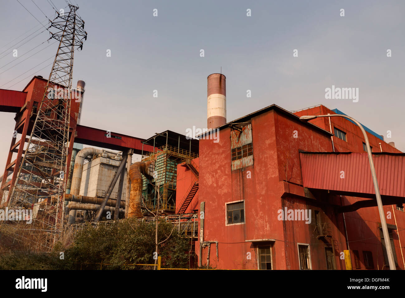 Old factory  building - Stock Image