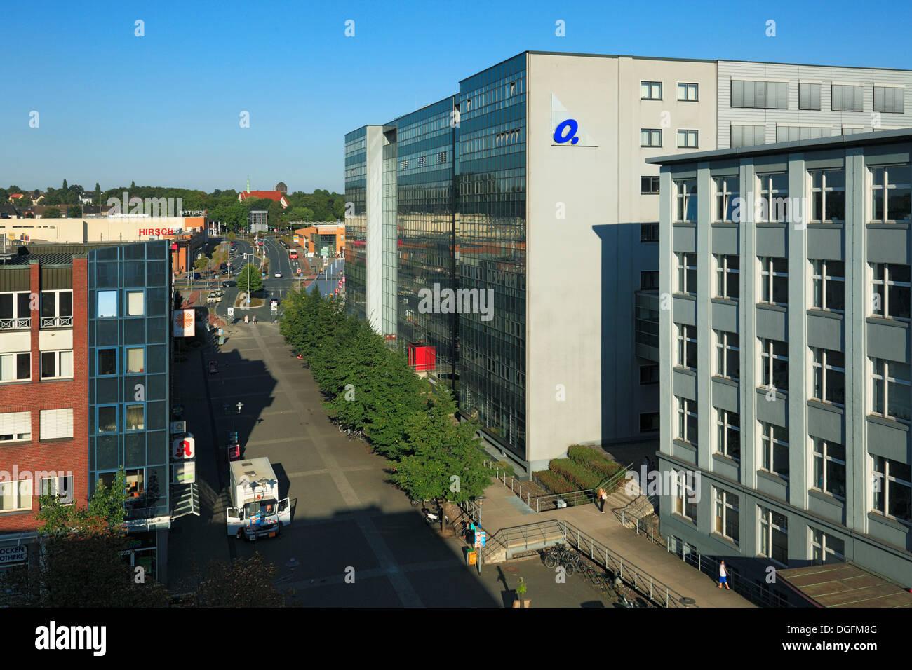 Technisches Rathaus der Stadt Oberhausen in Sterkrade, ehemals Verwaltung der Gutehoffnungshuette und der MAN GHH, Stock Photo