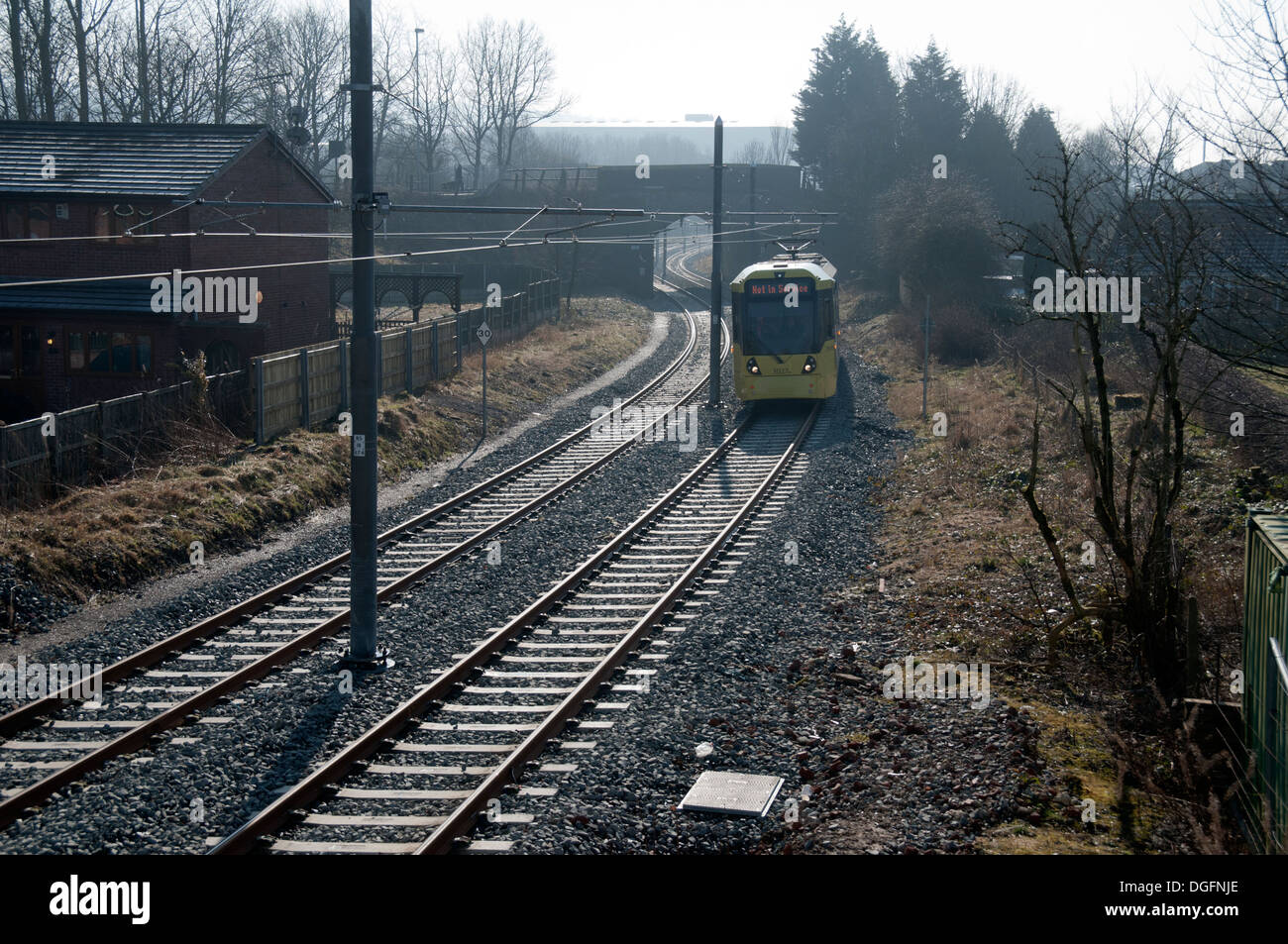 Line Art Rochdale : Shaw and crompton stock photos