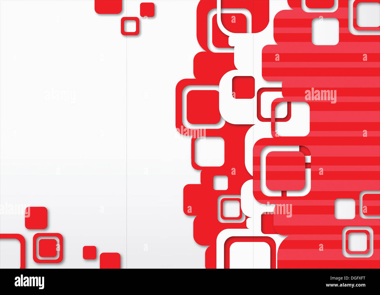 ppt background template design with red squares stock photo