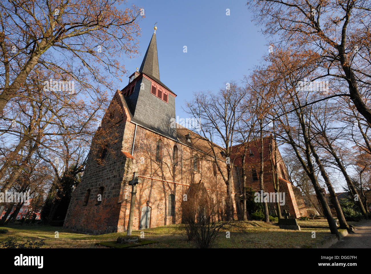 Liebfrauenkirche, Church of Our Lady, in Jueterbog, Teltow-Flaeming district, Brandenburg - Stock Image
