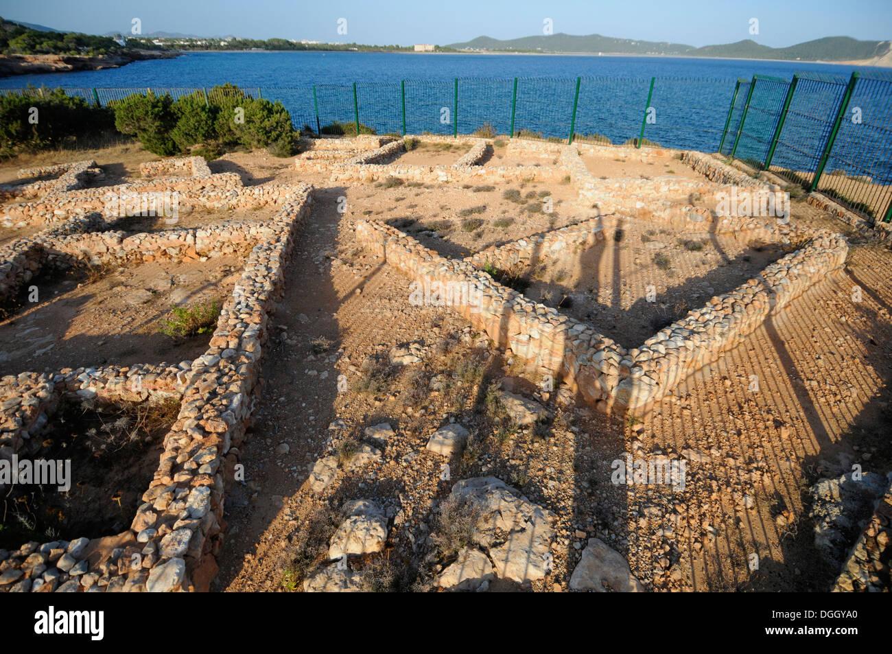 Poblado Fenicio de Sa Caleta, Ibiza, Spain - Stock Image