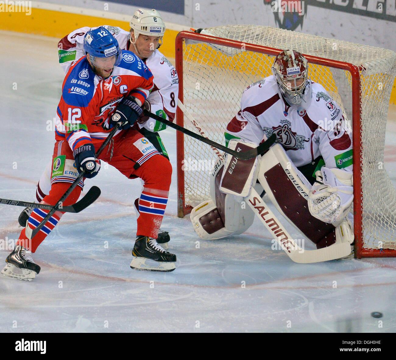 Girou Alexander - Canadian hockey striker, who played for the Riga Dynamo