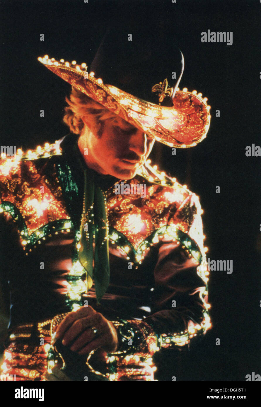 THE ELECTRIC HORSEMAN 1979 Universal Pictures film with Robert Redford Stock Photo