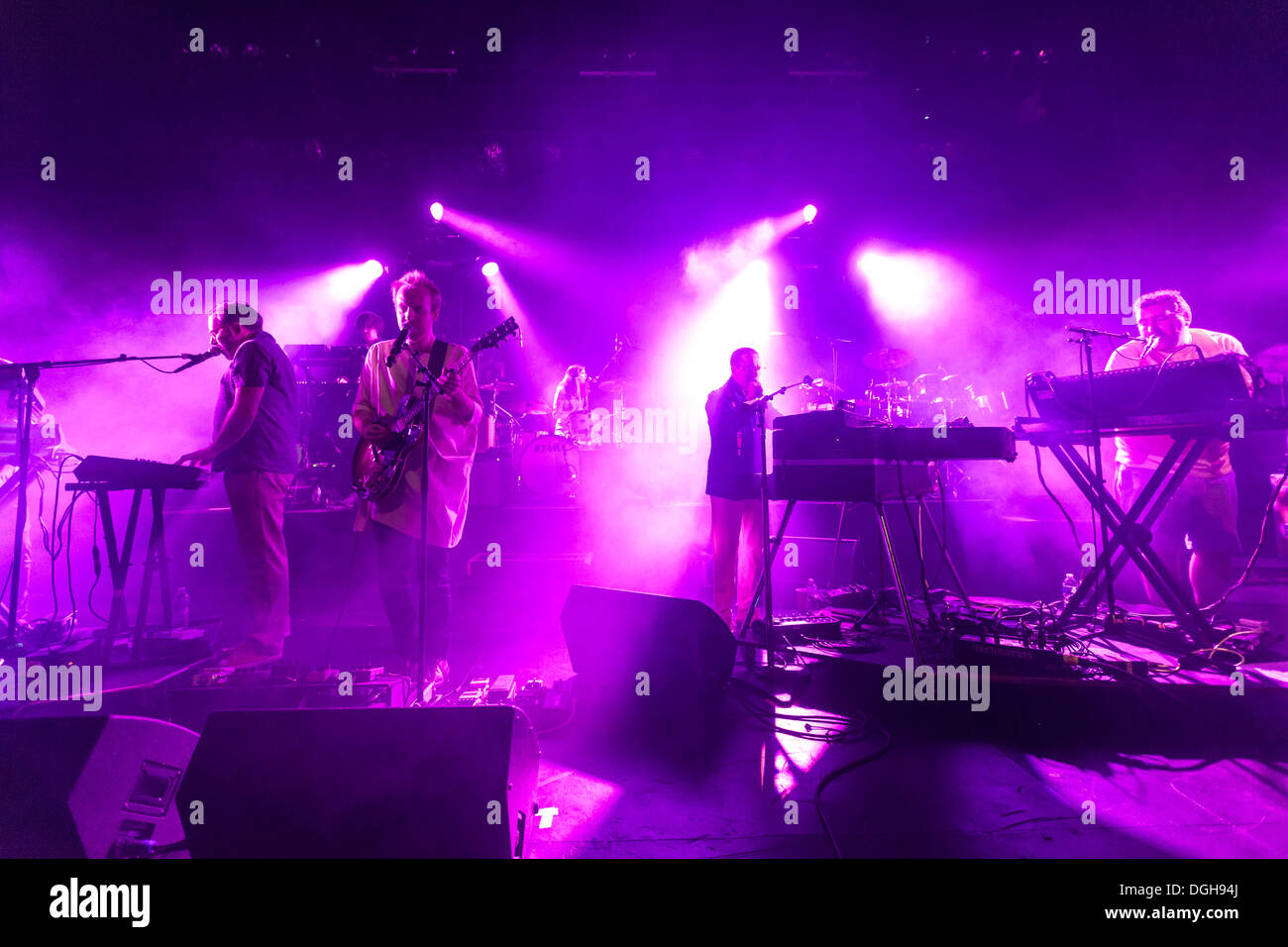 Hot Chip at the Vic Theatre Chicago IL - Stock Image
