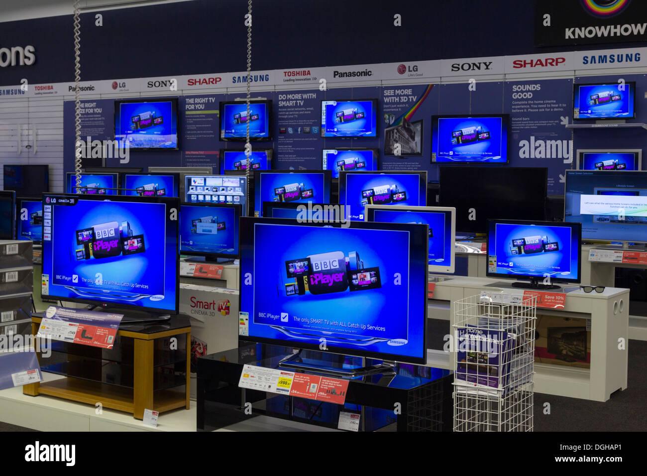 Currys Electrical Store - Friern Barnet - London - Stock Image