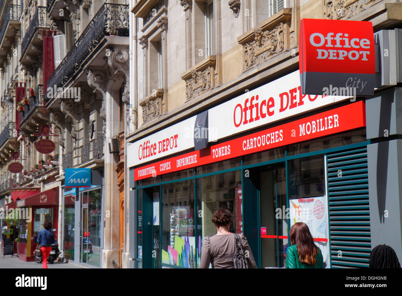 Paris France Europe French 8th Arrondissement Rue De La Pepiniere