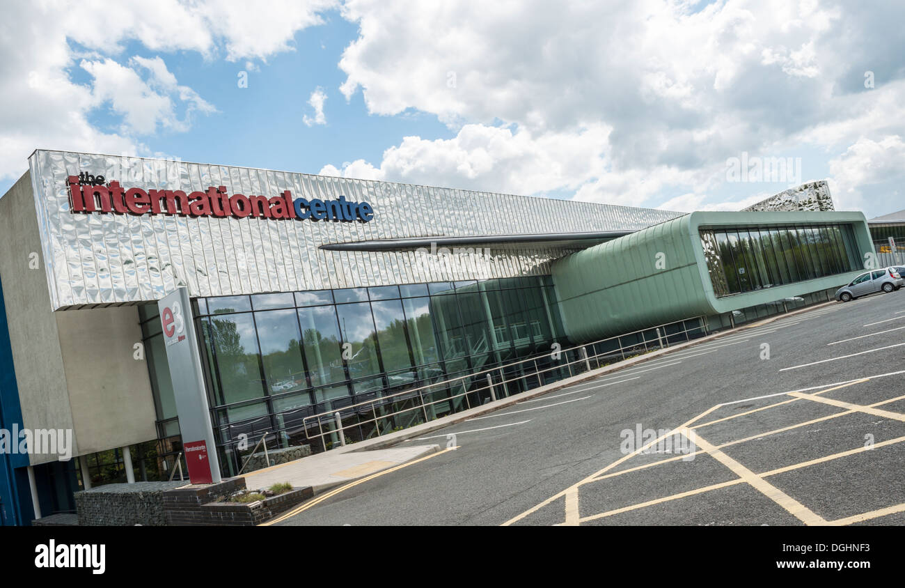 The International Centre, Telford, Shropshire - Stock Image