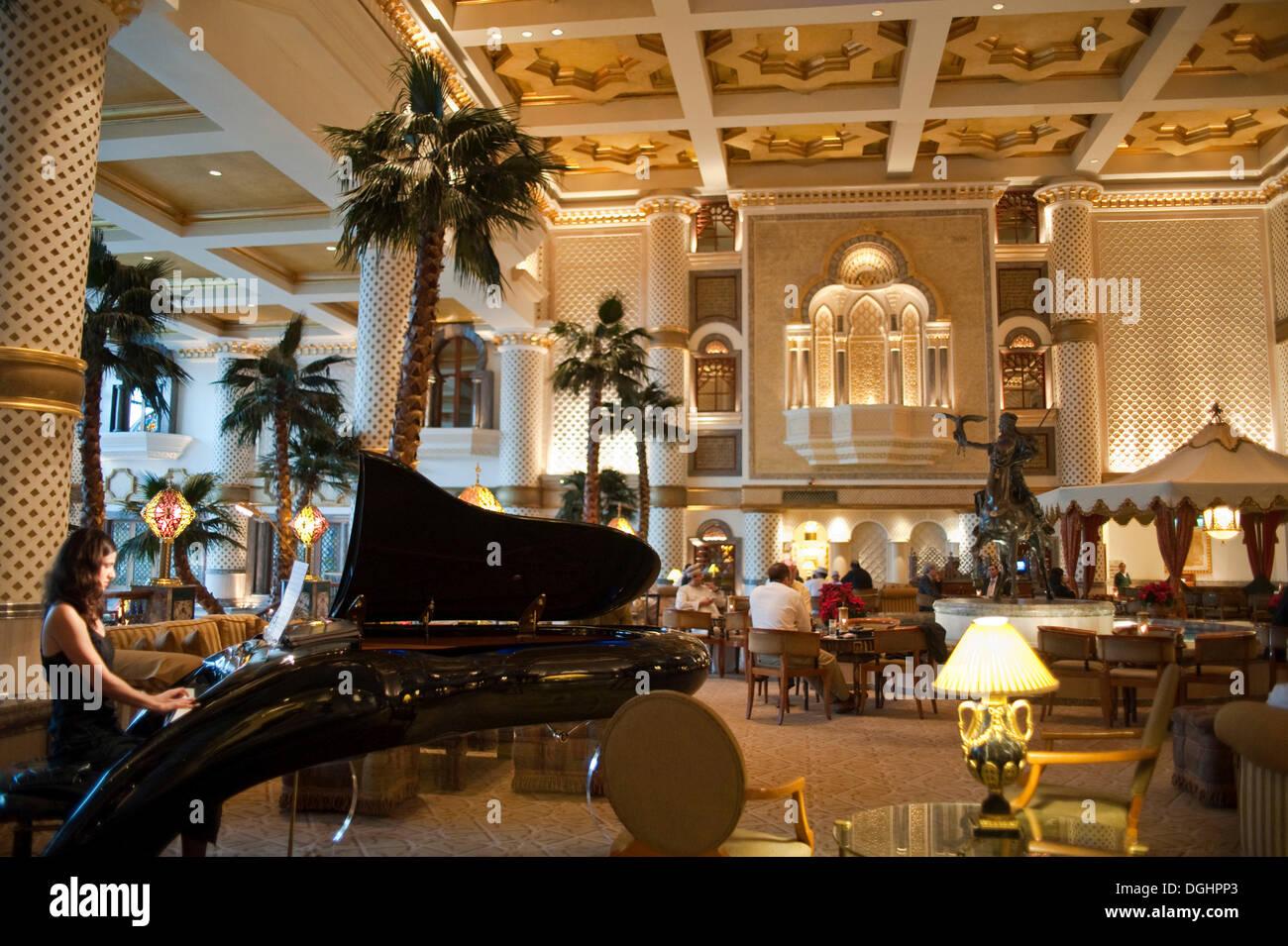 Grand Hyatt Foyer : Interior hall grand hyatt muscat capital area oman