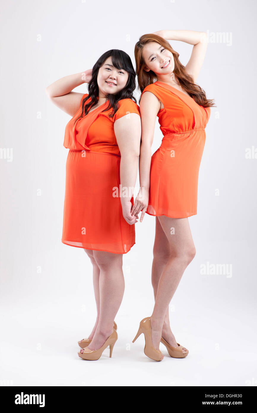 skinny girl fat girl