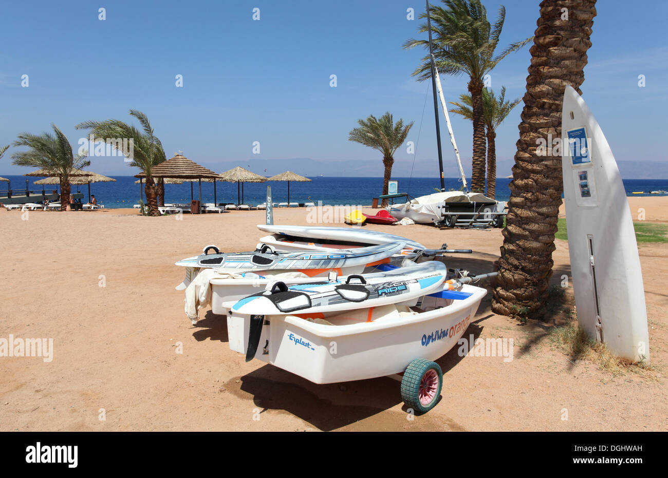 Red Sea, Aqaba, Jordan - Stock Image