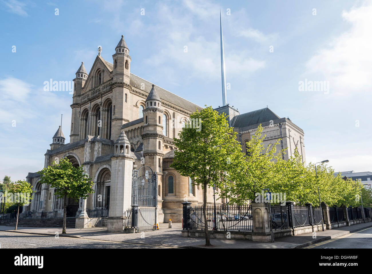 St. Anne's Cathedral, Belfast, Northern Ireland, United Kingdom, Europe - Stock Image