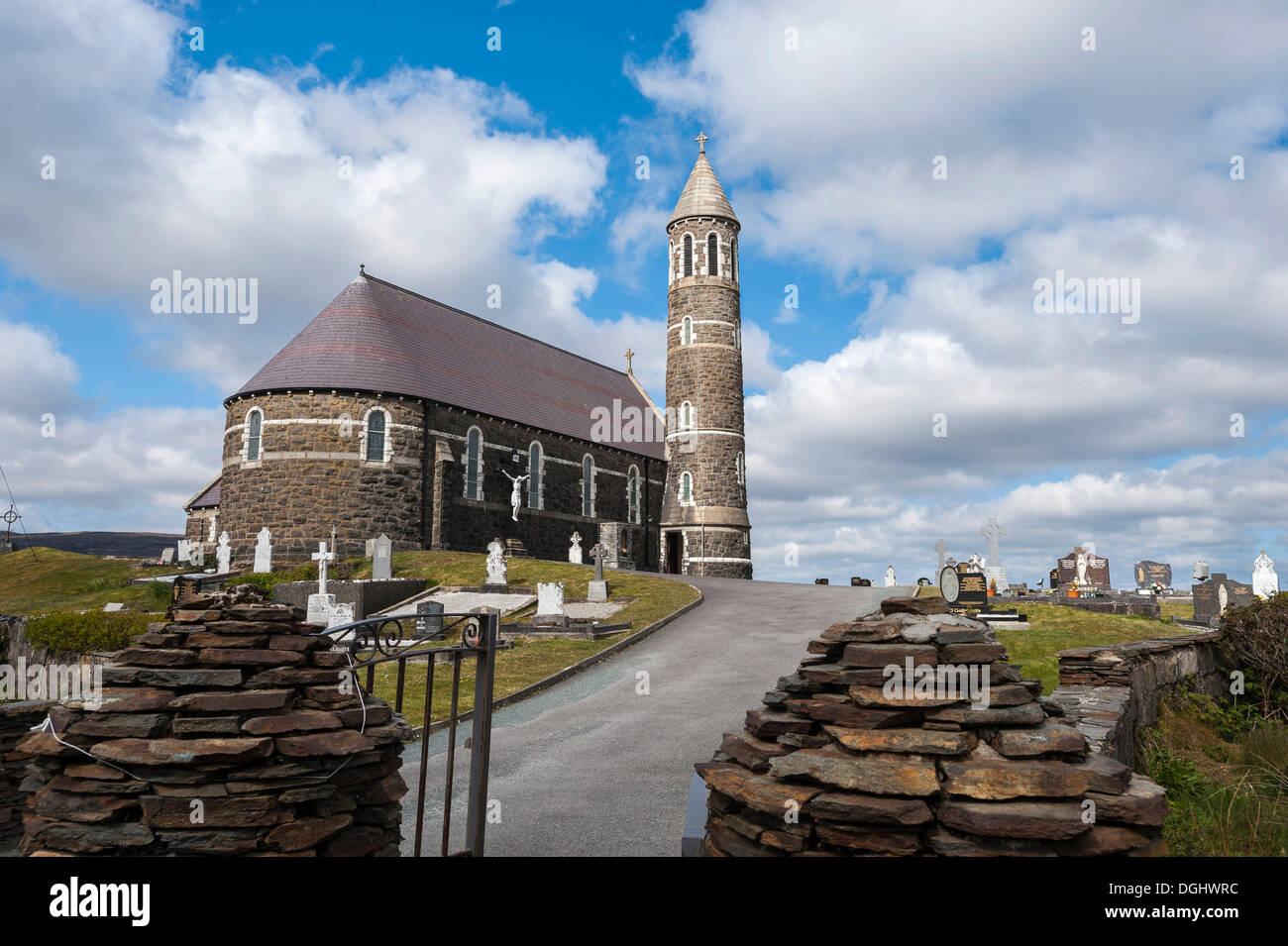 Sacred Heart Catholic Church, Money Beg, County Donegal, Republic of Ireland, Europe - Stock Image
