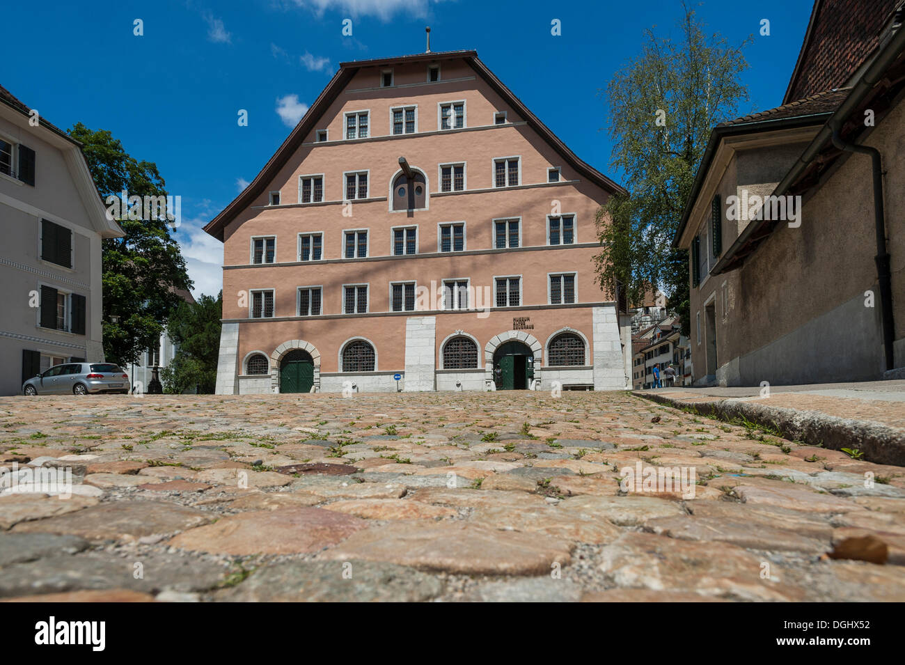 Altes Zeughaus Museum, historic arsenal, Solothurn, Solothurn, Canton of Solothurn, Switzerland - Stock Image