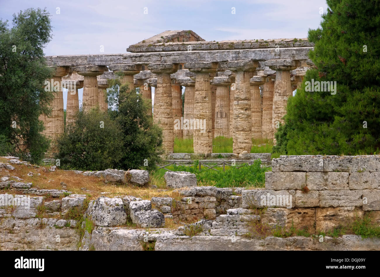 Paestum 22 - Stock Image