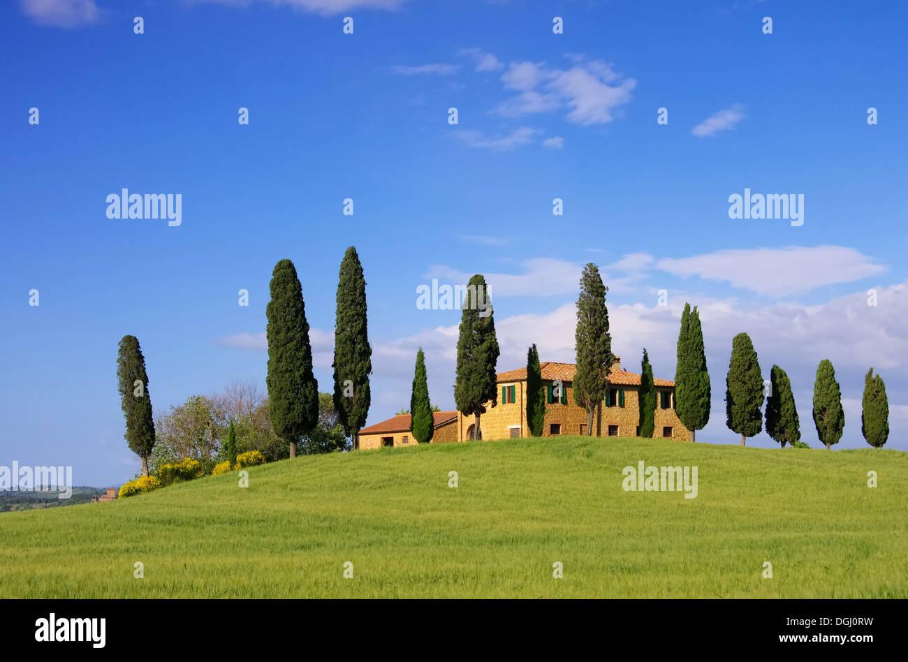 Toskana Haus   Tuscany House 15   Stock Image