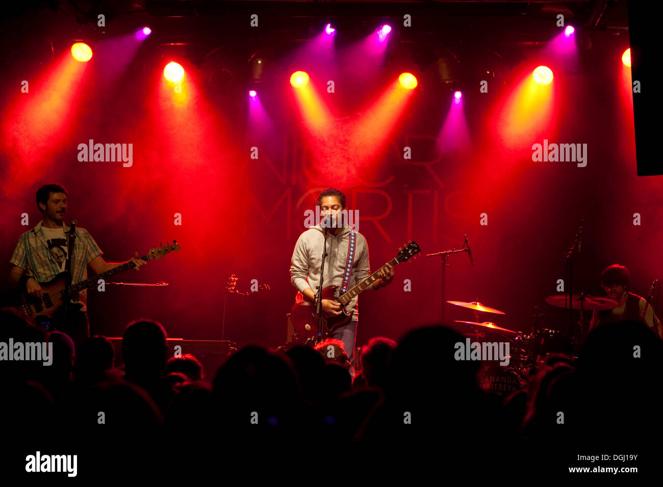 The U.S. singer and songwriter Sananda Maitreya, formerly known as Terence Trent D'Arby, live at the Schueuer venue, Stock Photo
