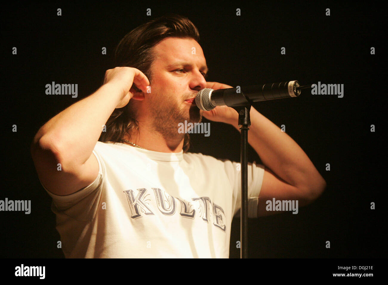 Henning Wehland, singer and frontman of the German rock band