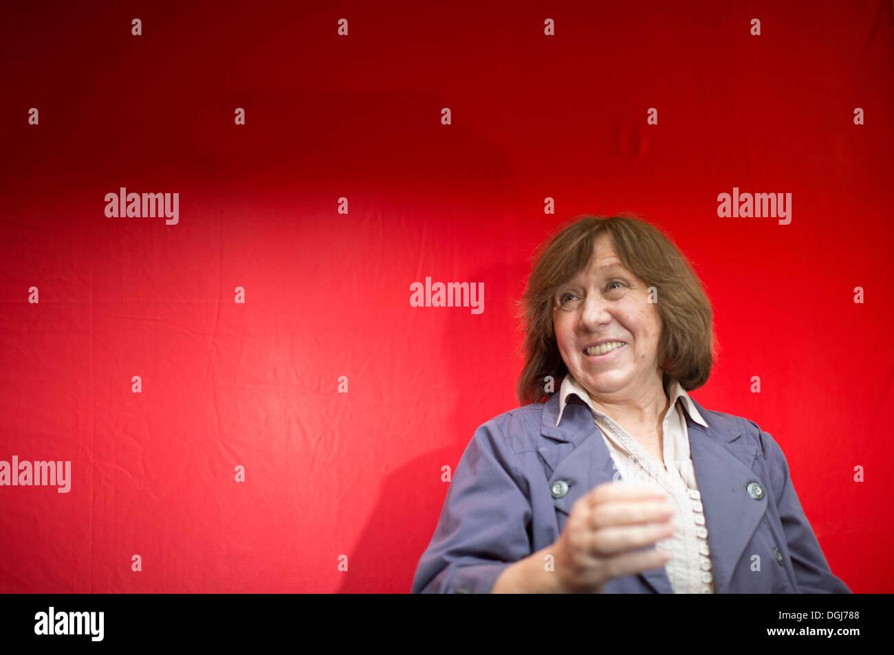 Swetlana ALEXIJEWITSCH, Weissrussland, Schriftstellerin, Preistraegerin Friedenspreis des Deutschen Buchhandels Stock Photo