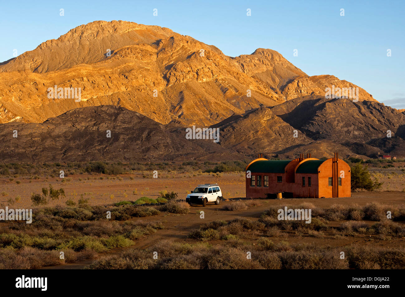 Gariep research station of the BIOTA AFRICA research initiative in Richtersveld National Park near Sendelingsdrift, South Africa - Stock Image