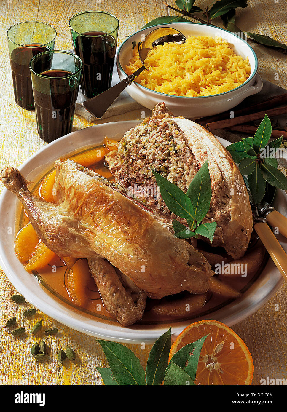 Egyptian chicken egypt recipe available for a fee stock photo egyptian chicken egypt recipe available for a fee forumfinder Images
