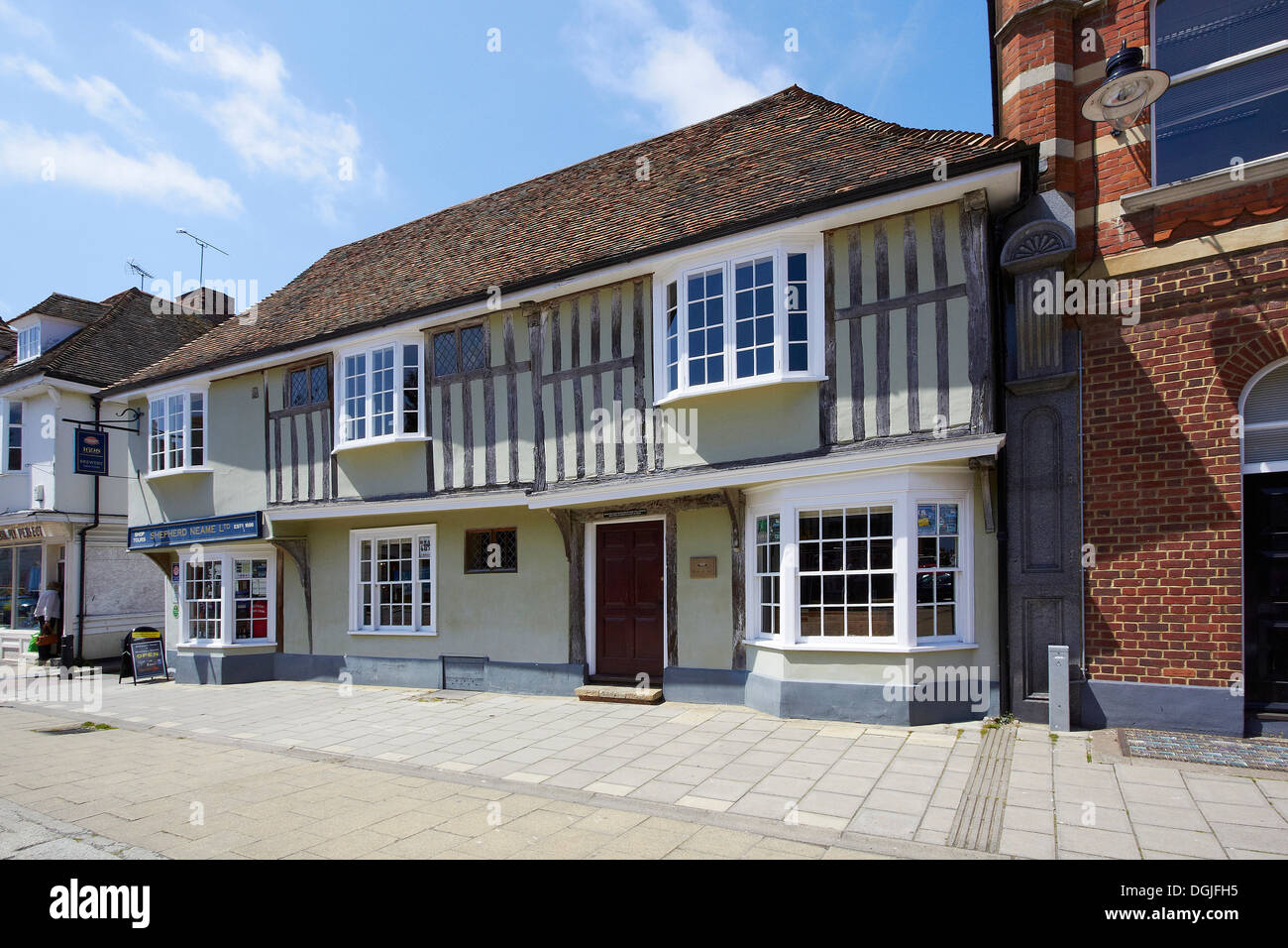 A building in Faversham. - Stock Image