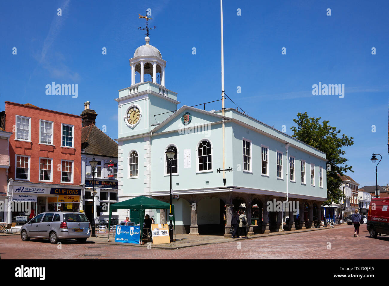 Guildhall in Faversham. - Stock Image