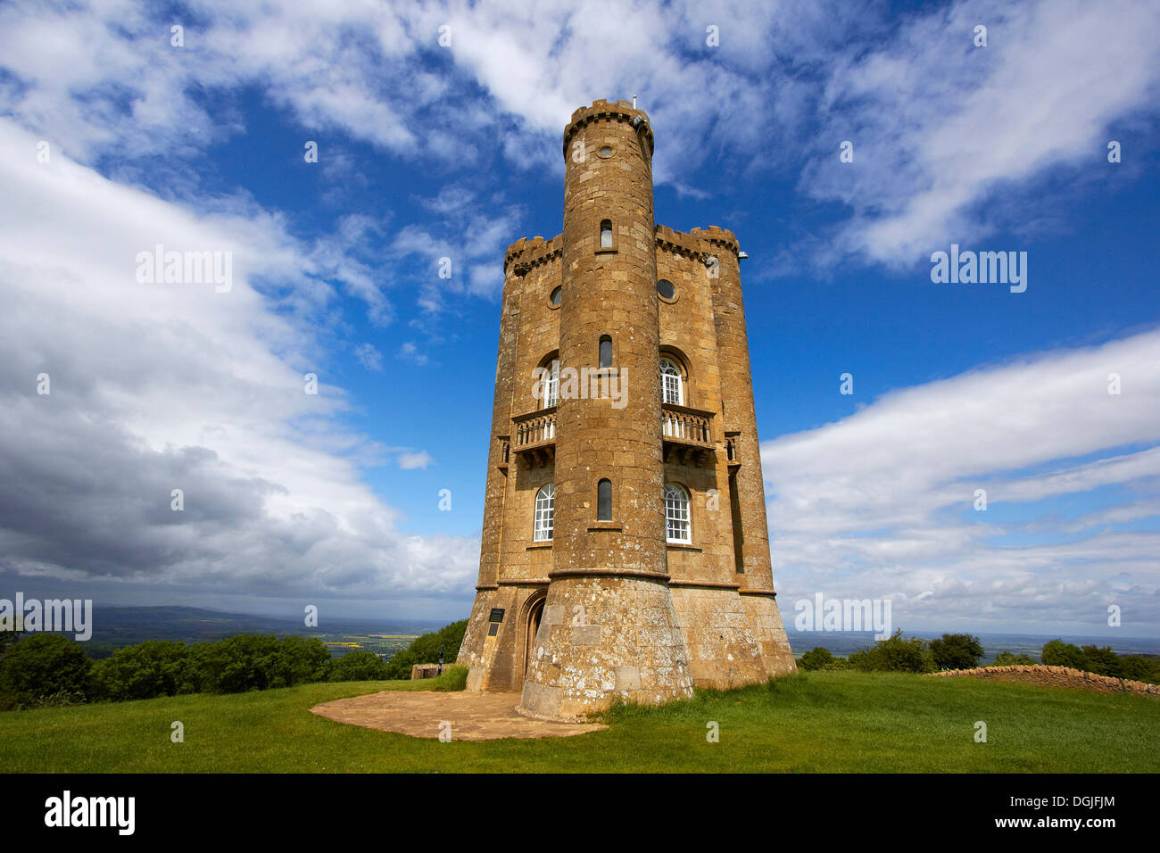 Broadway Tower. - Stock Image