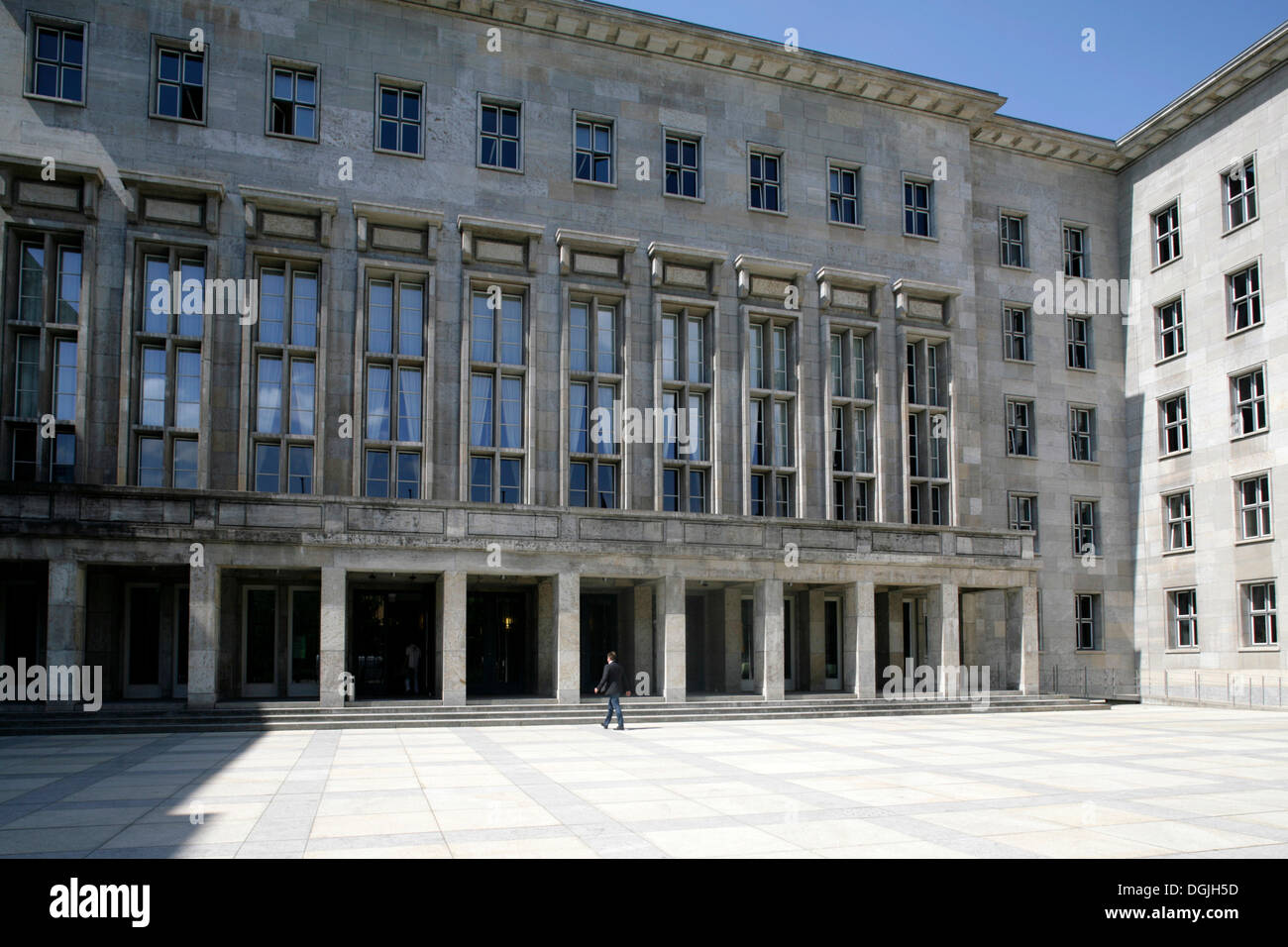 Federal Ministry of Finance, Berlin-Mitte, Berlin, Germany - Stock Image