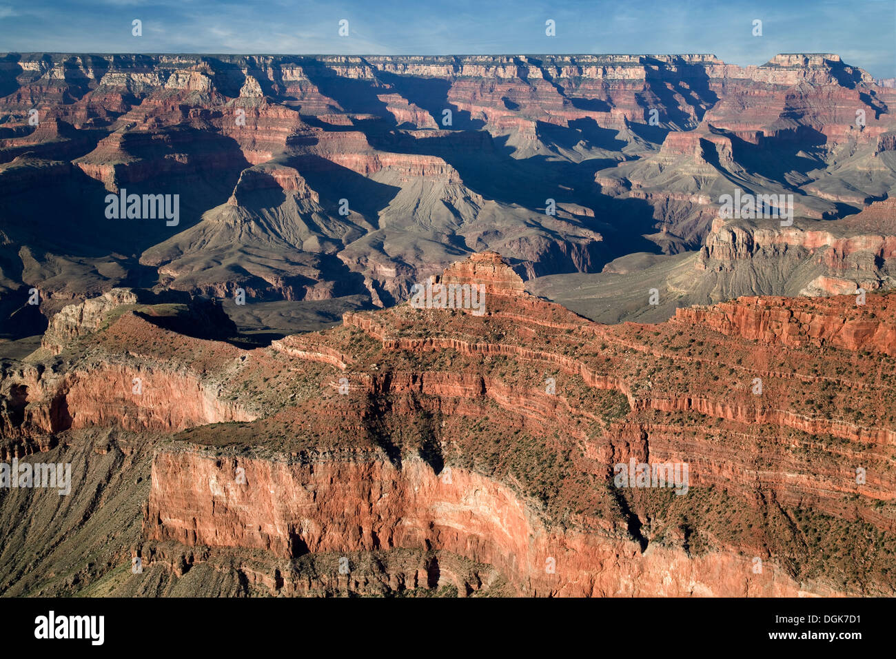 Angel Point of the Grand Canyon in the early morning. - Stock Image